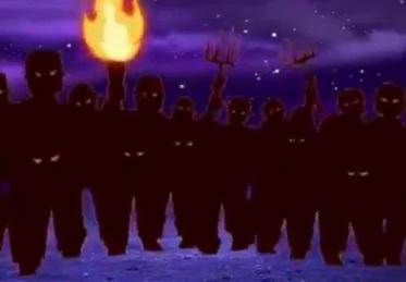 pic angry mob